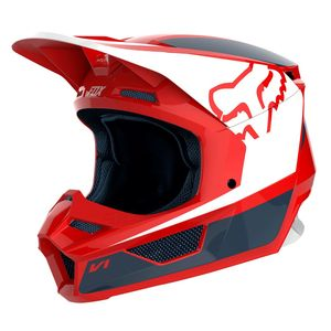 Casque Cross Fox V1 - Przm - Navy Red 2019