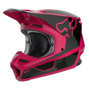Casque Cross Fox V1 Youth - Przm - Black Pink 2019