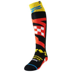 Chaussettes YOUTH FRI THIN - CZAR - BLACK YELLOW  Noir/Jaune