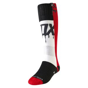 Chaussettes WOMEN - MATA DRIP - FLAME RED  Rouge/Blanc