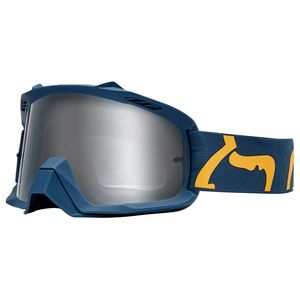 Masque cross YOUTH AIR SPACE - RACE - NAVY YELLOW  Bleu/Jaune
