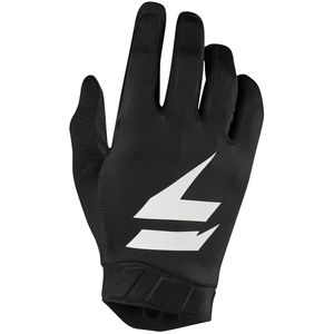 Gants cross 3LACK AIR - BLACK WHITE 2019 Noir/Blanc