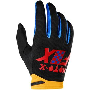 Gants Cross Fox Dirtpaw - Czar - Black Yellow 2019