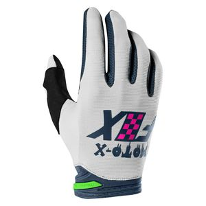 Gants Cross Fox Dirtpaw - Czar - Light Grey 2019
