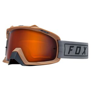 Masque Cross Fox Air Space - Enduro - Orange Dual Lens - Grey 2019