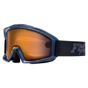 Masque Cross Fox Main - Enduro - Orange Dual Lens - Black 2019