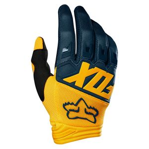 Gants Cross Fox Dirtpaw - Race - Navy Yellow 2019