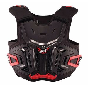 Plastron 4.5 JUNIOR  Noir Rouge