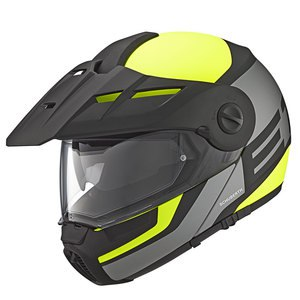 Casque E1 GUARDIAN  Jaune Fluo