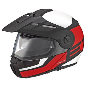 Casque E1 GUARDIAN  Rouge