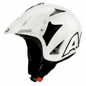 Casque trial EVERGREEN - COLOR 2017 Blanc
