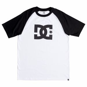T-Shirt manches courtes STAR RAGLAN  White/Black