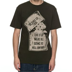 T-Shirt manches courtes DEAD ABOVE  Olive