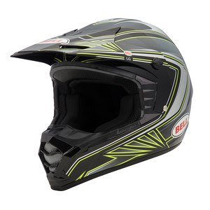 Casque cross SX-1 SONIC BLACK YELLOW 2017 Noir/Jaune