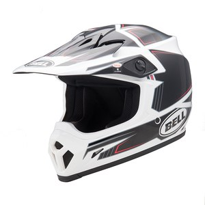 Casque cross MX-9 - BLOCKADE BLACK 2017 Noir/Blanc