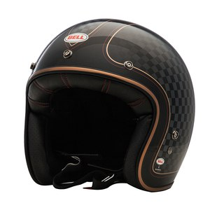 Casque CUSTOM 500 DLX SE - CHECK IT  Noir/Gris