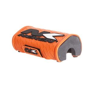 Mousse de guidon enduro  orange fluo