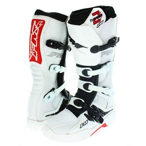 Bottes Cross Fm Racing Thunder 2 Enduro White 2018