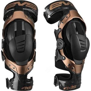 Genouillères AXIS-PRO COPPER BLACK 2020 Black/Gold