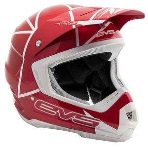 Casque cross T5 NEON BLOCKS RED  2017 Rouge