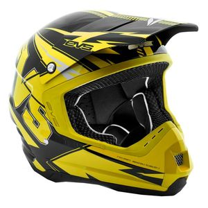 Casque cross T5 BOLT YELLOW BLACK  2017 Jaune/Noir