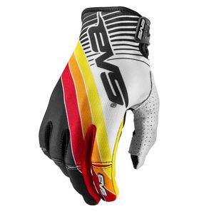 Gants cross Pro GT BLACK WHITE ROY  2017 Blanc/Noir