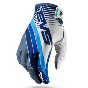 Gants cross Pro GT GREY WHITE BLUE  2017 Gris/Blanc/Bleu