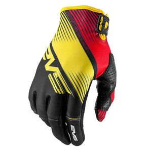 Gants cross Pro Vapor Black yellow Red  2017 Noir