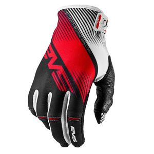 Gants cross Pro Vapor Black white Red  2017 Noir/Blanc/Rouge