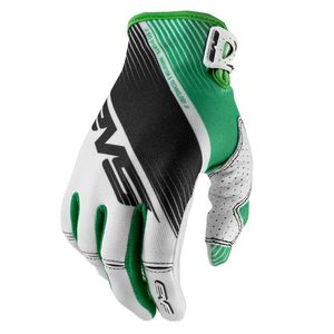 Gants cross Pro Vapor WHITE BLACK GREEN  2017 Blanc/Noir/vert