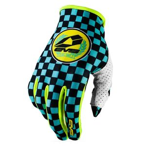 Gants cross SLIP ON C-O BLUE BLACK YELLOW  2017 Bleu/Noir/Jaune fluo