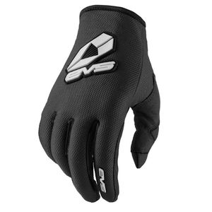 Gants cross SPORT BLACK 2019 Noir