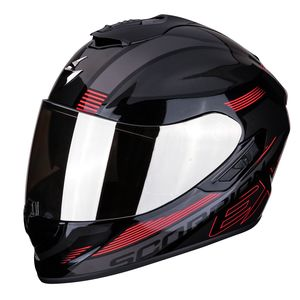 Casque EXO-1400  AIR - FREE  Metal Black Red