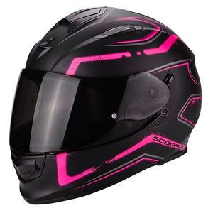 Casque EXO-510 AIR - RADIUM  Noir Mat/Rose