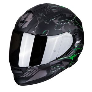 Casque EXO-510 AIR - LIKID MATT  Matt Black / Green