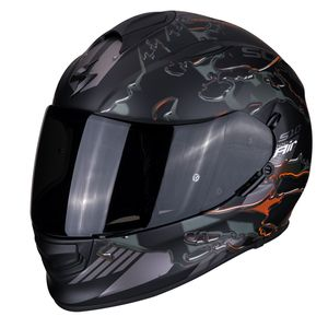 Casque EXO-510 AIR - LIKID MATT  Matt Black Orange