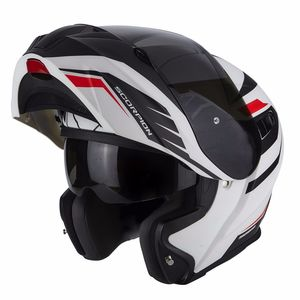 Casque EXO-920 - SHUTTLE  Matt White-Black