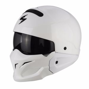 Casque Scorpion Exo Exo-combat - Solid White
