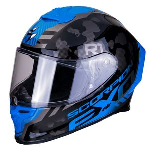 Casque EXO-R1 AIR - OGI  Dark Silver Blue