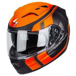 Casque EXO-1200 AIR - STREAM TOUR  Noir/Orange