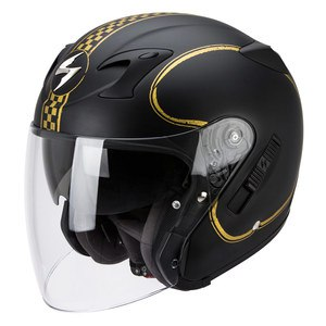 Casque EXO-220 AIR - BIXBY  Noir/Or