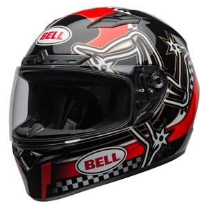 Casque QUALIFIER DLX MIPS - ISLE OF MAN 2020  Rouge/Noir