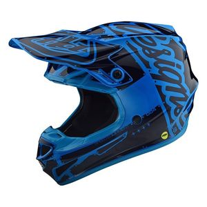Casque cross SE4 POLYACRYLITE FACTORY OCEAN 2019 Ocean