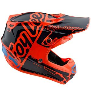 Casque cross SE4 POLYACRYLITE FACTORY ORANGE 2019 Orange