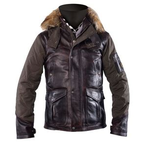 Veste FAIRBANKS  Marron Kaki