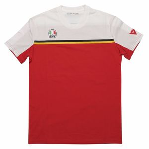 T-Shirt manches courtes FAST-7  White/Red