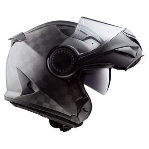 Casque FF313 - VORTEX - SOLID MATT CARBON  Matt Carbon