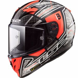 Casque FF323 ARROW C EVO REPLICA HECTOR BARBERA  Black/white