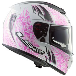Casque FF390 - BREAKER - RUMBLE  White/Pink