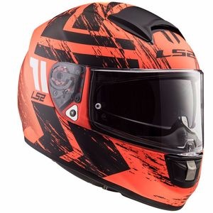 Casque FF397  - VECTOR - EVO HUNTER  MATT ORANGE BLACK